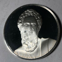 St. Paul, The Genius of Michelangelo 1.26oz Sterling Silver Medal