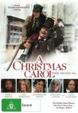 A Christmas Carol The Musical DVD CHRISTMAS MOVIES CHARLES DICKENS BRAND NEW R4