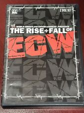 WWE : The Rise & Fall Of ECW ( DVD,2004 ) 2 Disc Set