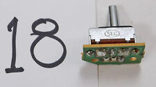 Sliding Toggle Style JR RC Transmitter Switch 2 Position, MCB059-3 **USED** #18
