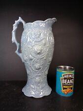More details for royal cauldon pottery part raised design very large jug vintage 1930s - 1950s