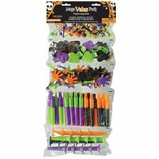 100 Halloween Party Favours Spooky Gift Loot Bag Filler Toys Mix Pack Haunted