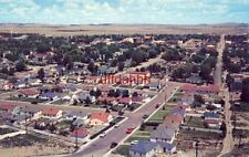 PANORAMA OF RAWLINS, WY Cattle and oil metropolis of the plains