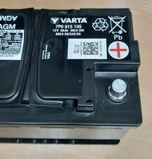 Original VW Audi AGM Varta Batterie 12V 68Ah 380A 680A 7P0915105Top100%