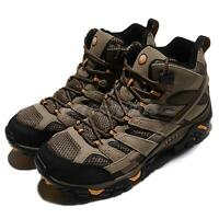Merrell Moab 2 Mid GTX Wide Gore-Tex Walnut Brown Men Outdoors Shoes J06057W