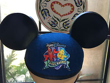 Disney Parks Sebastian & Flouder Kid Races Mickey Little Mermaid Ears