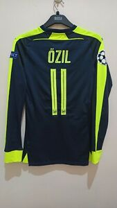 Excellent Original Player Issue Arsenal 3rd 16/17 Long-sleeved