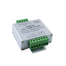 RGB/RGBW Amplifier Repeater Controller 24A 12-24V for 2835 5050 LED Strip Light