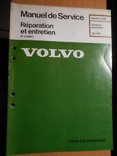 Volvo 240 1991 : schémas électriques