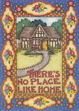 No Place Like Home-Handcrafted Fridge Magnet-Using art by Mary Engelbreit