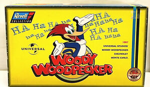 Vintage 1997 Woody Woodpecker Chevy Chevrolet Monte Carlo 1:18 Dallenbach Revell