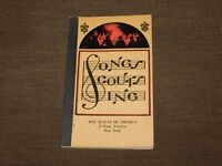 VINTAGE WWII BSA BOY SCOUTS OF AMERICA 1945 SONGS SCOUTS SING BOOK