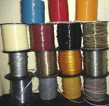 75 YDs Rexlace ~ Gimp Boondoggle Plastic Lace ~ 15 Natural Colors ~ 5 YDs Each