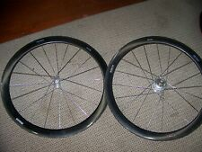 Custom Enve 45 Powertap Pro+ Tubular Wheelset 10 speed EUC