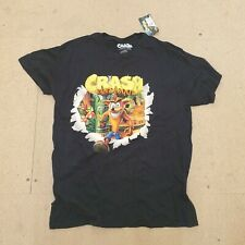 Black Crash Bandicoot T Shirt Large - Never Worn