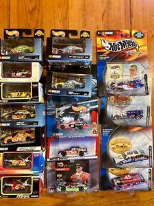 Lot 16 NASCAR Diecast 1/64 Hot Wheels Team Caliber Mixed 1998-2003
