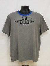 Oregon DUCKS Football TEAM ISSUED Nike WORKOUT Dri-Fit PLAYER TEE SHIRT Men's XL