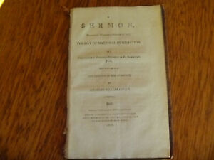 1803 Charles Wellbeloved Sermon Preached Wednesday, October 19 1803 Humiliation