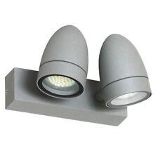 Ranex 5000.480 Margo LED Wandleuchte Ip54 2x4w Alu Außenlampe Wandleuchten