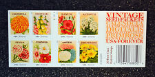2013USA #4754-4763 Forever Vintage Seed Packets  Booklet 20 Mint wedding postage