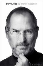 Steve Jobs by Walter Isaacson Biography [Hardcover G] Ships Anywhere Today!
