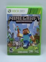 Microsoft Minecraft Xbox 360 Edition~Very Good Condition Tested Rare