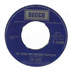 "Tom Jones - The Young New Mexican Puppeteer - 7"" Record Single"