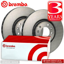 Brembo Vented Front Brake Disc Set Opel Agila 09.A271.11