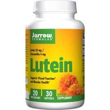 Lutein, 20mg X 30 Softgel, Augen Gesundheit - Jarrow Formulas