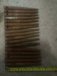 17 New (Old Stock) Sisis/ Groundsman 1/2in. Solid Tines