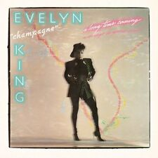 """EVELYN 'CHAMPAGNE' KING - A LONG TIME COMING 2014 2CD 1985 ALBUM + 12"""" MIXES !"""