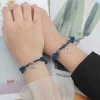 Mode gepaart Armband für Liebhaber Kreative Magnet Paar Distanz Armband O4B9