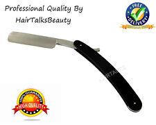 HAIRTALKS Straight Edge Cut Throat Shaving Razor Blade Stainless Steel