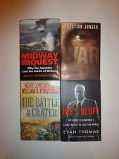 Lot of 4 Military War,Midway Inquest,Battle of the Crater,War,Ike's Bluff MW2