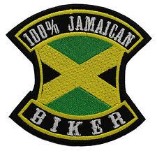 100% JAMAICAN BIKER FLAG