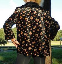 VINTAGE Nostalgia 1910s-1920s Original RARE Couture Silk Velvet Glamour Jacket