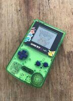 Nintendo GameBoy Color - Refurbished Colour Game Boy Handheld GBC Green Pokemon