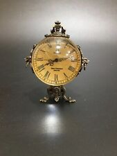 China Old collection classical Pure copper Tiger head Western mechanical clock