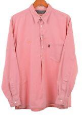 Necessary or Unnecesary x EVISU Collab Red Herringbone Popover Cotton Shirt L