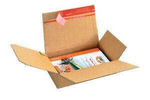 ColomPac Instant Bottom Brown A5 Postal Box 230 x 160 x 50mm- 10 Boxes