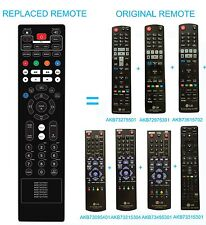 New BLU-RAY DISC DVD HOME THEATER 7in1 Remote AKB73495301 for LG TV BD650 BD660