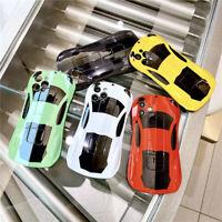 Cartoons Cute Sports Car Fall proof Phone Case For iPhone 11 12 Pro Max Mini XR