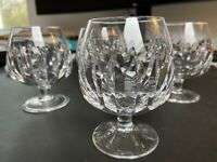 Bleikristall Cognacschwenker Cognac Glas Hirschberg 60er Jahre