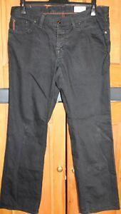 Mens HUGO Boss Black Regular Fit Jeans Waist 36 Leg 32