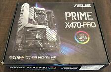ASUS PRIME X470-PRO ATX Motherboard , Socket AM4, RYZEN 3000 Ready