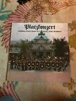 "Cambrai Staff Band of The Royal Tank Regiment Platzkonzert 12"" Vinyl LP"