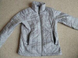 Decathlon Forclaz Trek 100 Insulated Jacket Silver size 12-14 uk
