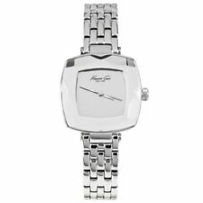 Kenneth Cole $150 Retail Women's Classic Analog Silver Watch KC0011 10018803