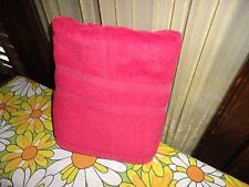 Vintage Land'S End Coming Home Red Step-Out Bath Shower Mt 22 X 34 Cotton Rayon