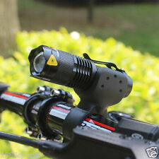 1200lm Cree LED Cycling Bike Bicycle Head Front Light Flashlight + 360 Mount #72